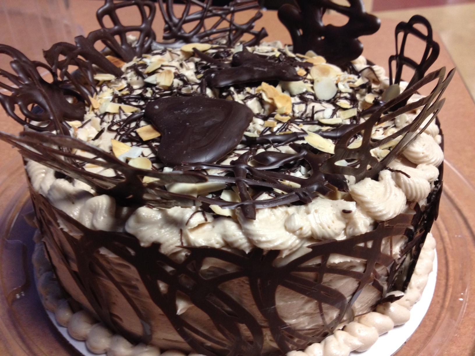 Chocolate Ganache with Praline Butter cream