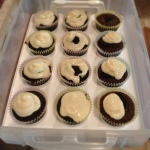 Green Velvet Cupcakes with Cream Cheese Frosting