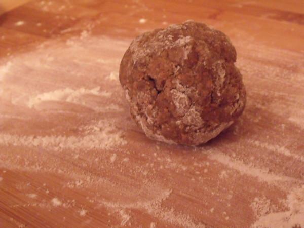Whole Wheat Pasta Dough Ball
