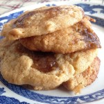 Cheat-Baked Apple Caramel Cookies