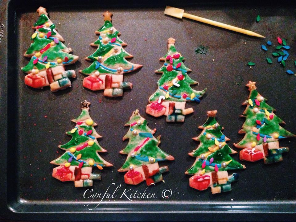 Lebkuchen Christmas Trees