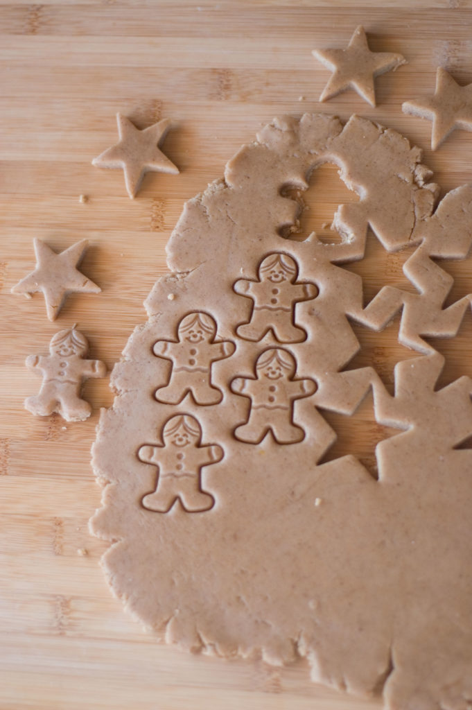 Lebkuchen (Traditional german spiced cookies)