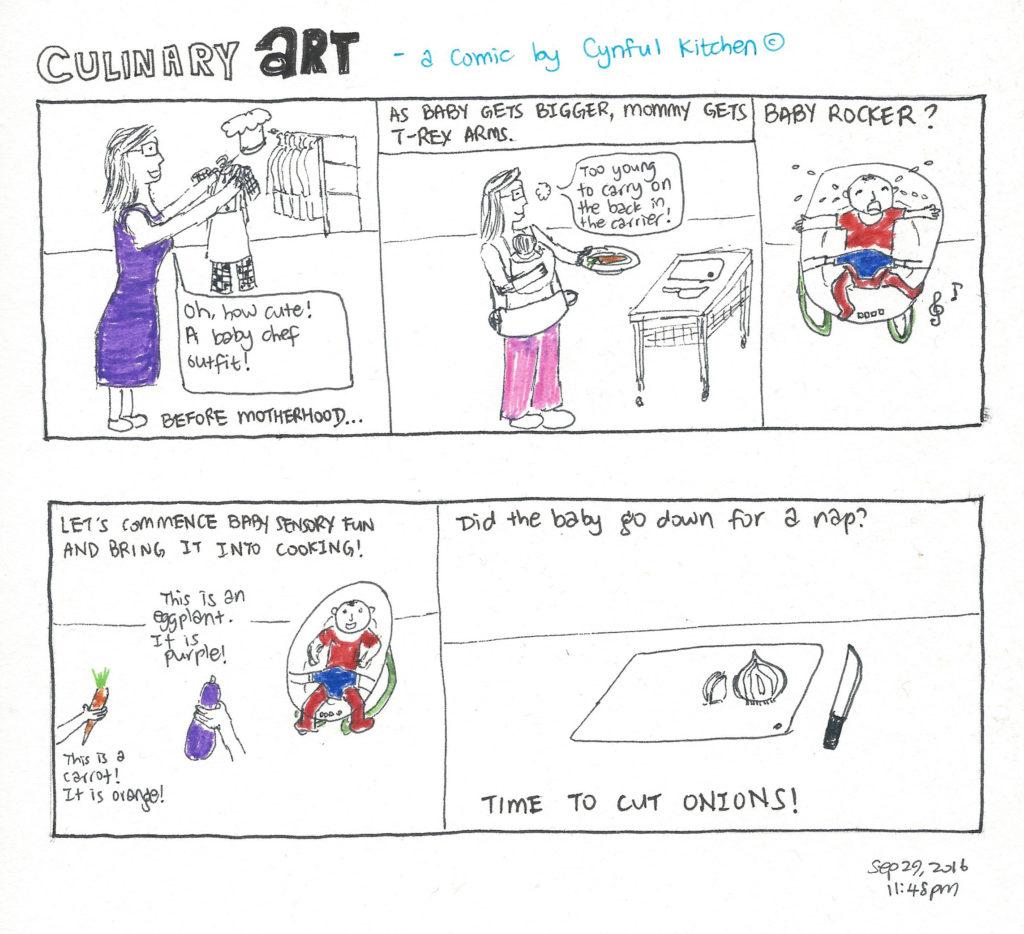 Culinary ART comics