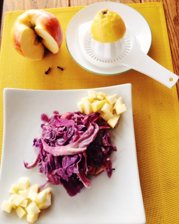 Braised German Red Cabbage
