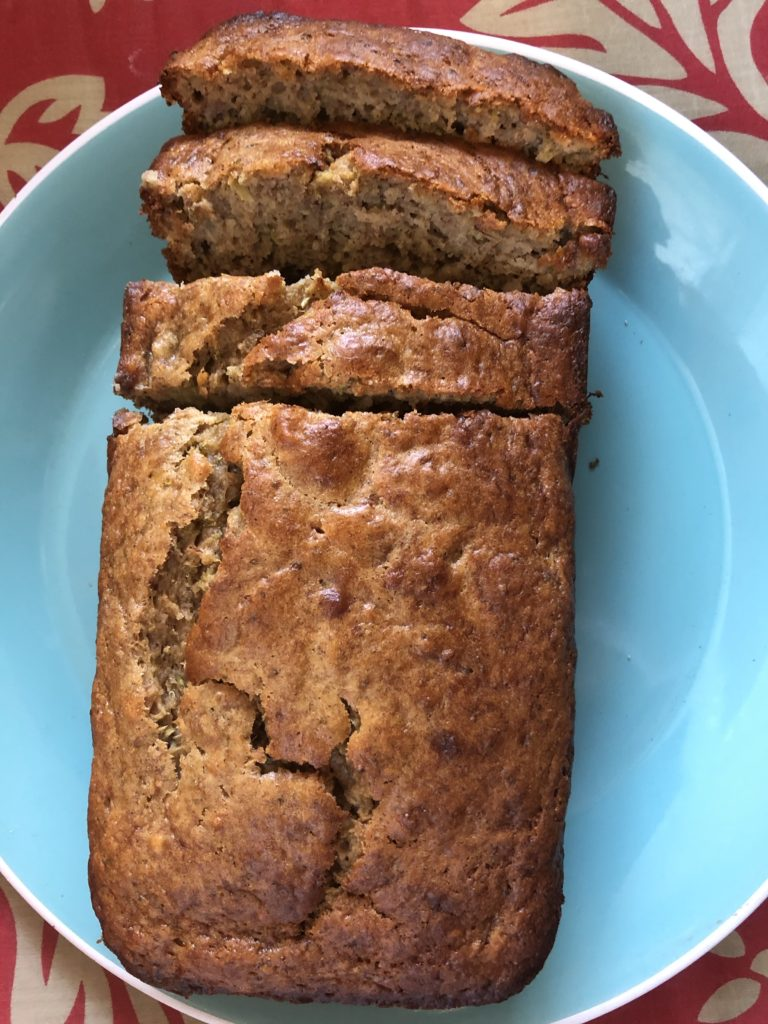 Broccoli Banana Bread