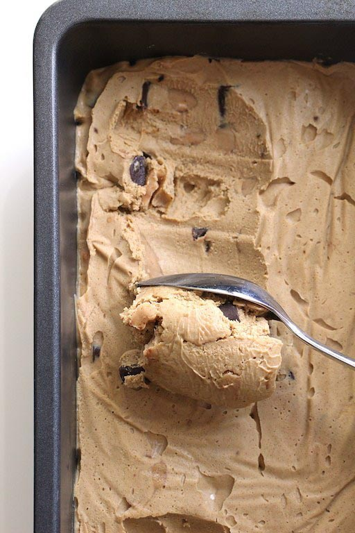 Dalgona Vegan Coffee Ice Cream